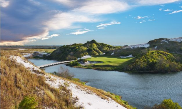 How a Mining Site Became a World-Class Golf Resort