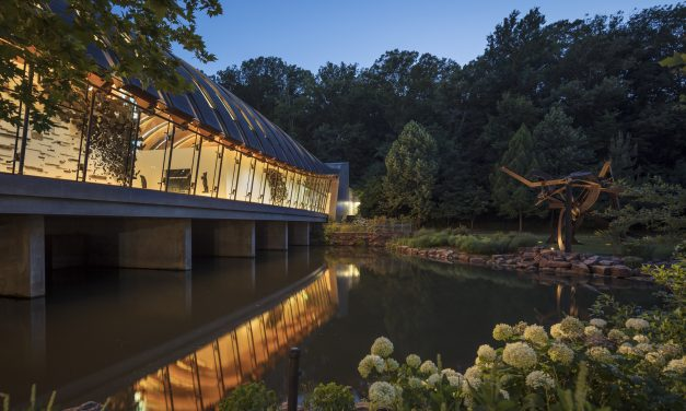 10 Best Gardens in the South: Crystal Bridges