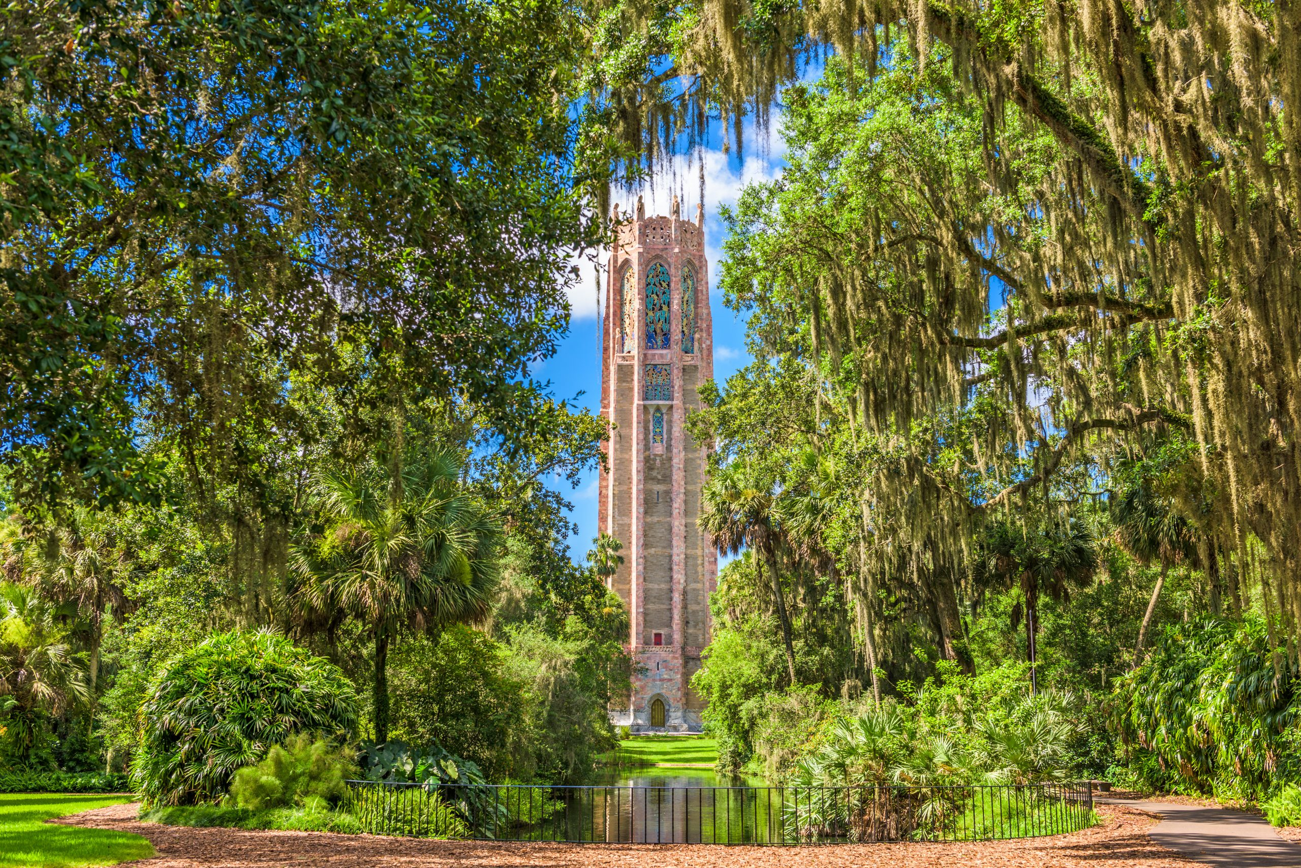 Bok Tower Gardens in among the top 10 public gardens in the South
