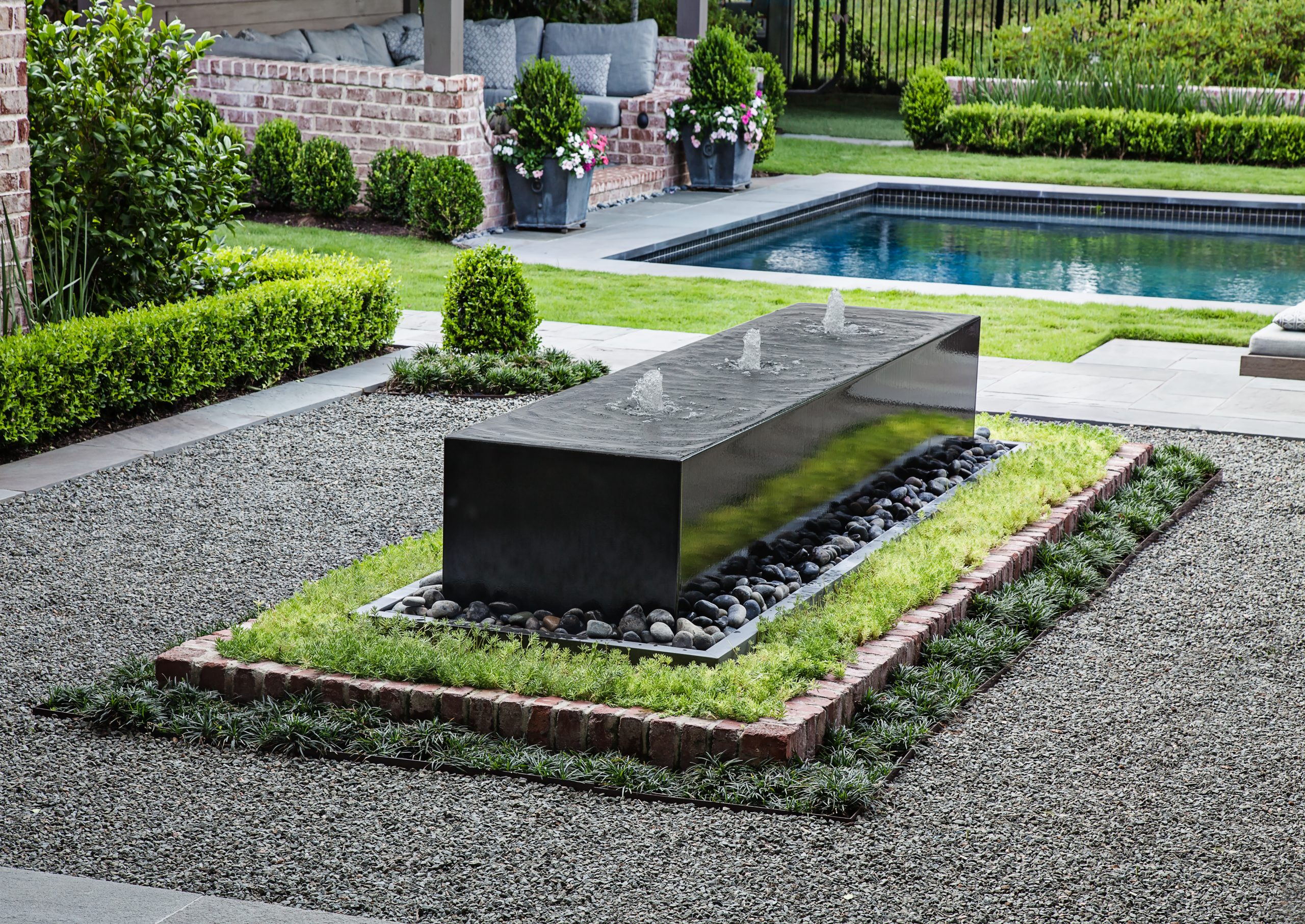 Pool and Landscaping Design in Houston, Texas