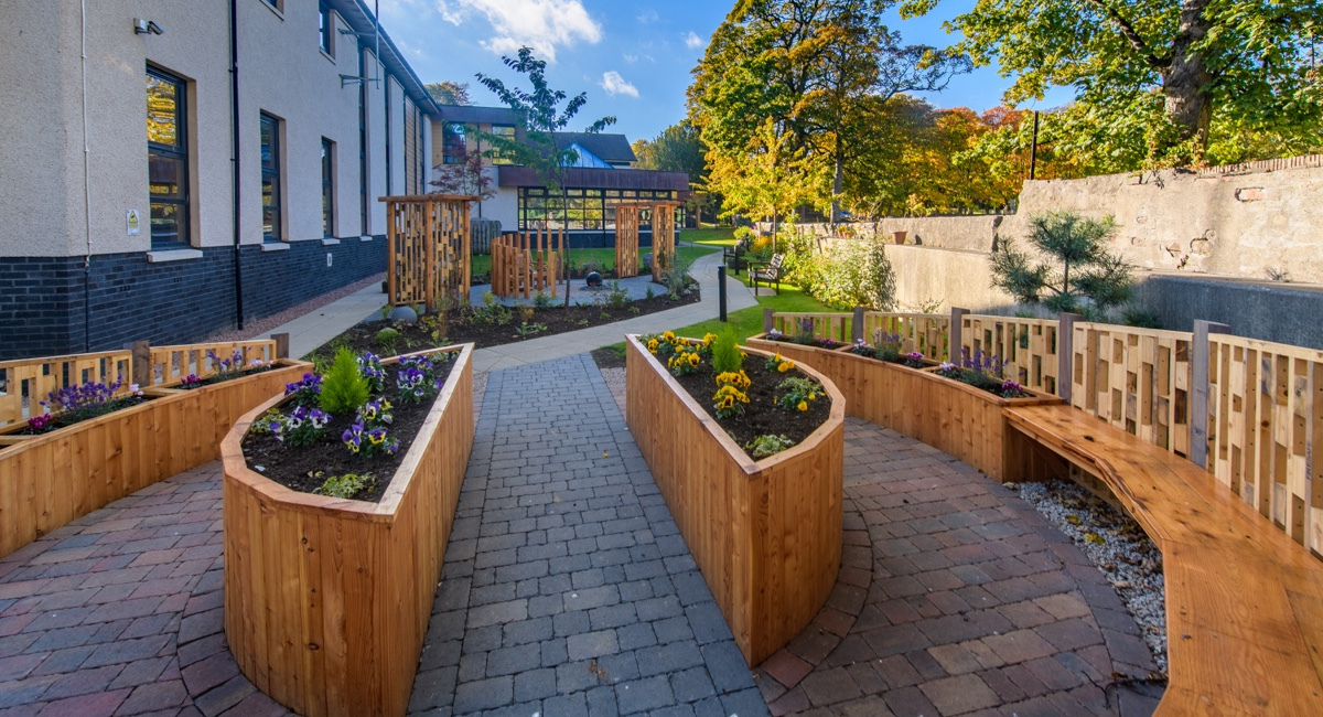 Sensory Garden at CLAN