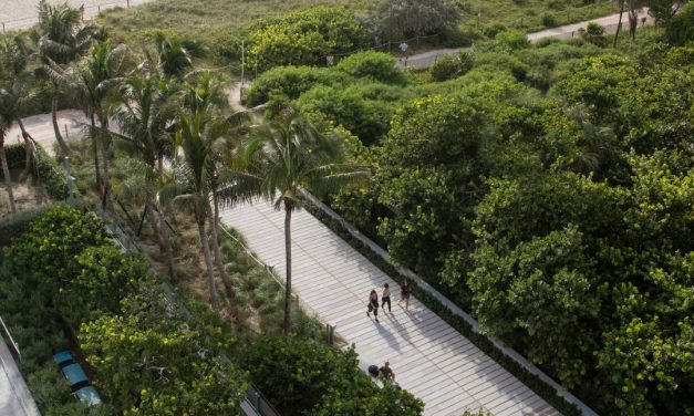 West 8 Enhances Miami's North Beach