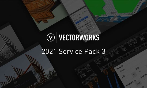 Vectorworks, Inc. Announces Partnership and Service Pack 3