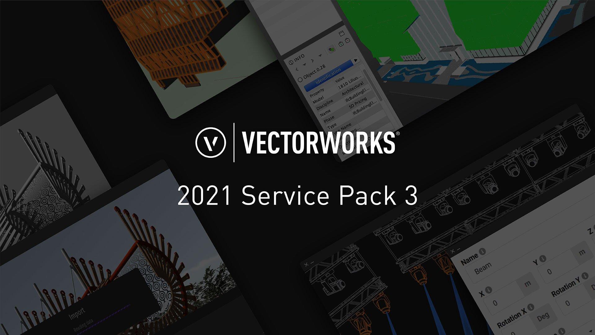 Vectorworks 2021 Service Pack 3