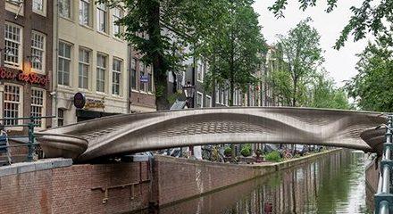 World's First 3D Printed Bridge
